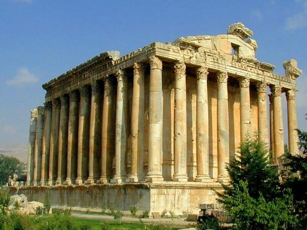 monument-Baalbek, au Liban