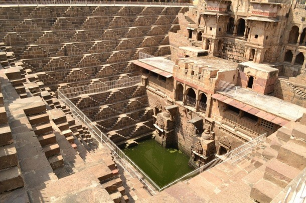 monument-Chand Baori, Rajasthan, Inde