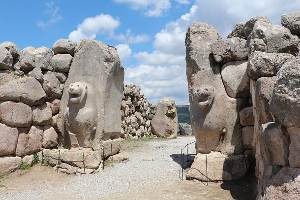 monument-Hattusa, Turquie