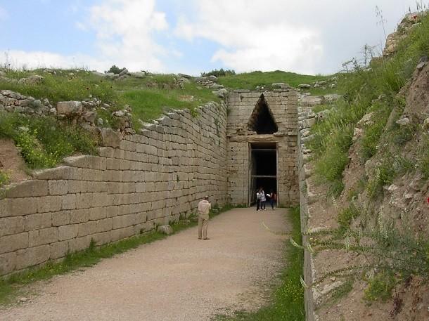 monument-Mycenae, Grèce