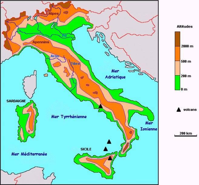 italie-relief