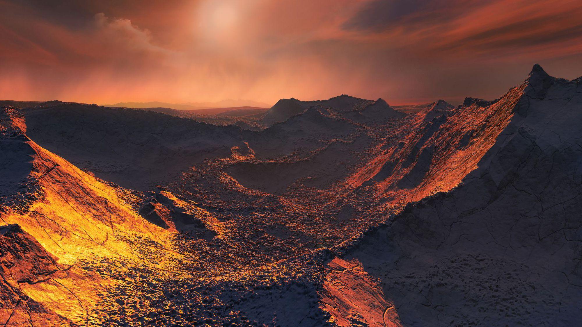 étoile de Barnard -planete