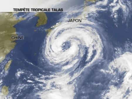 talas tempete tropicale 2011