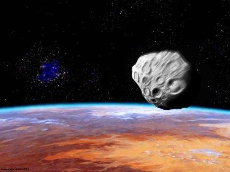 asteroide vers mars