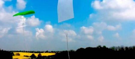 Une maquette du projet de capture des nuages.