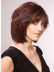 cute short chin-length hairstyles