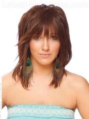 edgy medium haircuts 2012