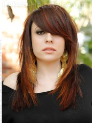 lovely layered hairstyles &