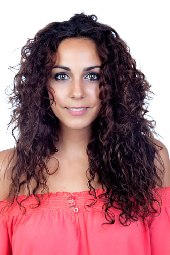 long loose curly hairstyle