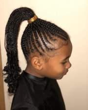cute hairstyles black kids