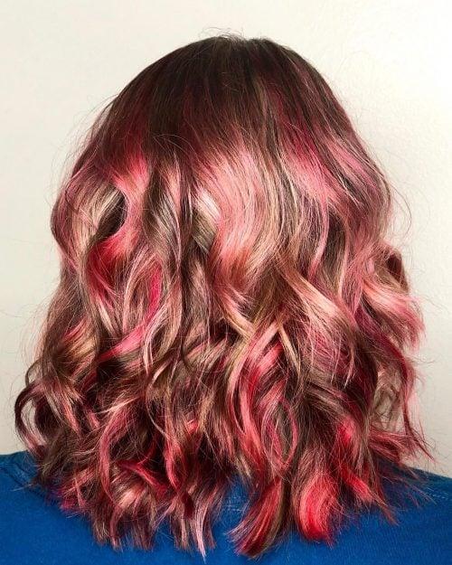 Reddish Light Brown Hair