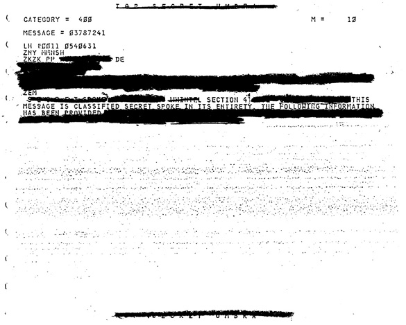 NSA Claim They Can't Release Non-redacted UFO Files