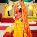 Mehndi dresses for pakistani weddings mayoon dresses 2013