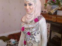 Bridal hijab designs – Hijab styles for Muslim brides