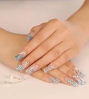 acrylic nail art design 2014