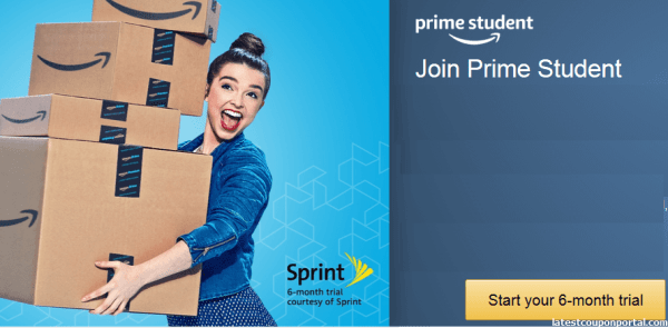 Amazon Prime Student FREE Trial For 6 Month