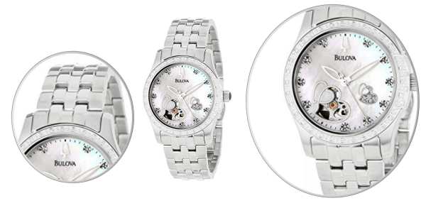 Diamond Accented Automatic Watch