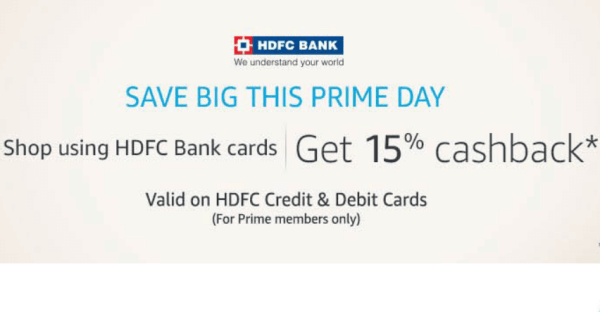 hdfc credit card offer on amazon