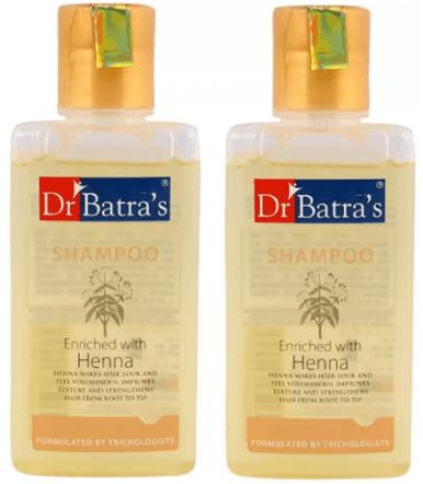 Dr. Batra's Enriched Henna Normal Shampoo