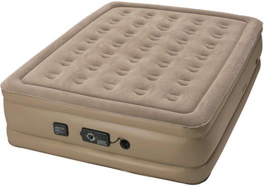 Insta-Bed Queen Air Mattress with Never Flat Pump