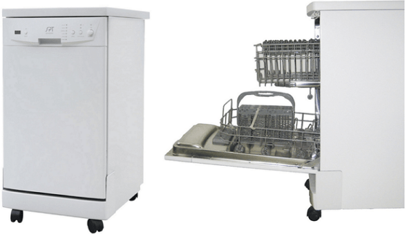 SPT SD-9241W Energy Star Portable Dishwasher