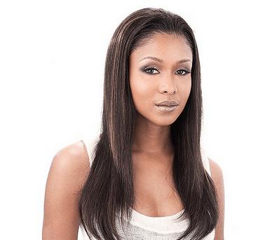 Straight Human Hair Half Wig