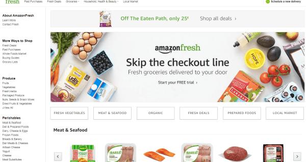 amazon fresh discount code