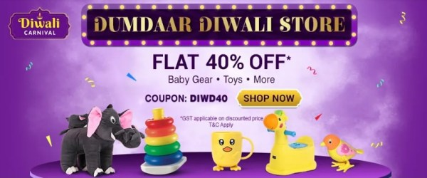 Diwali Discount for Kids