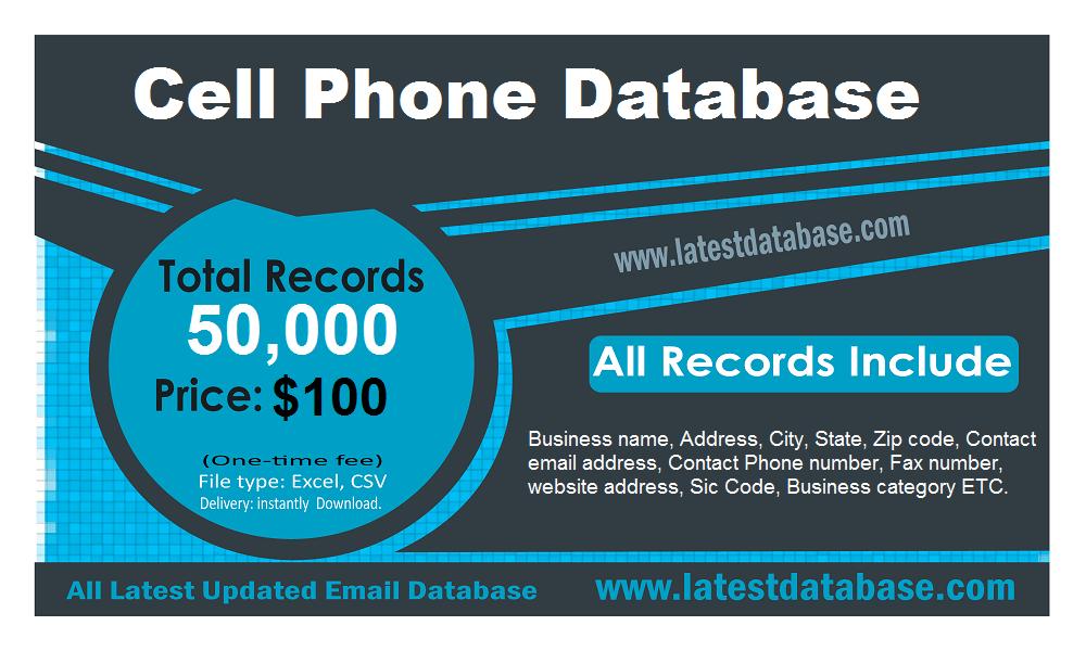 База података мобилног телефона