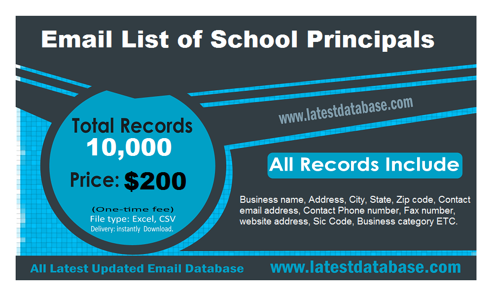 Email Index School Principales