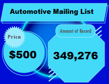 Automotive Mailing List-