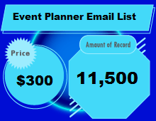 Lista de Emails do Event Planner