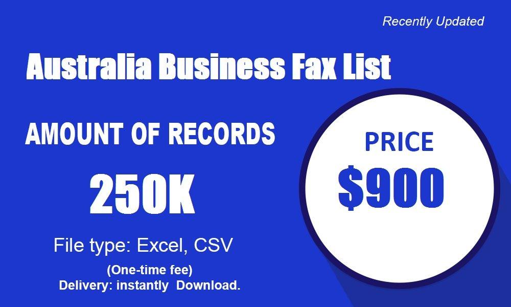 Daptar Bisnis Fax Australia