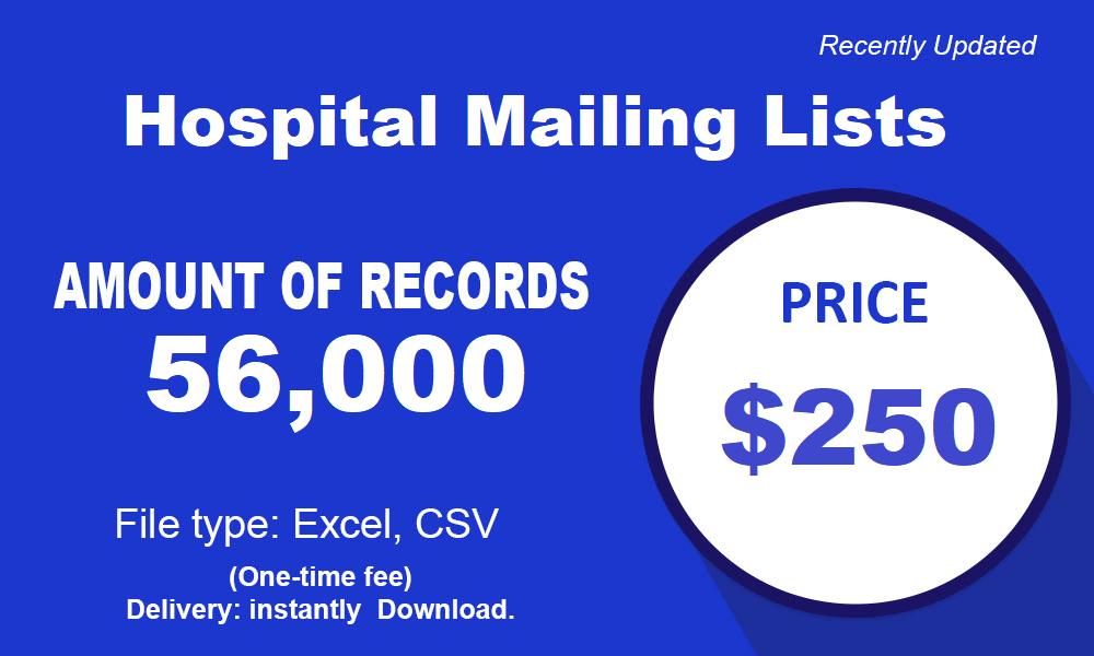 Κατάλογος λίστας νοσοκομείων