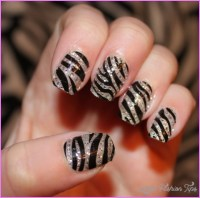 Nail art zebra - LatestFashionTips.com