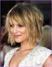 medium messy bob hairstyles