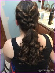 cute hairstyles school dances