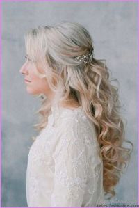Bridal Hairstyles Long Hair Half Up - LatestFashionTips.com