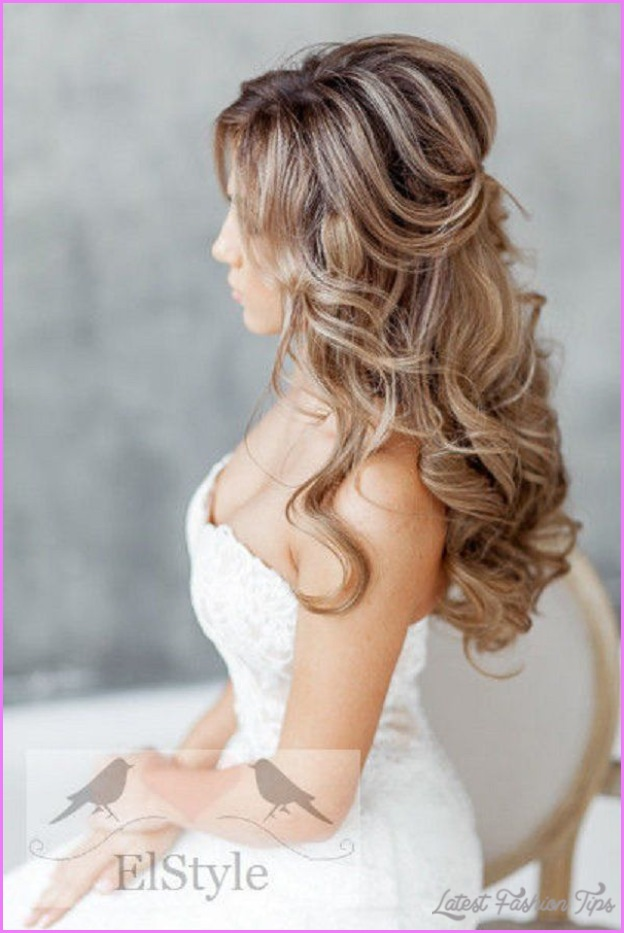 Bridal Hairstyles Long Hair Half Up