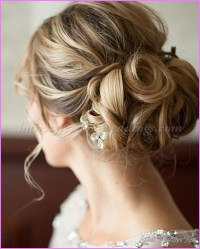 Bridal Hairstyles Low Bun - LatestFashionTips.com