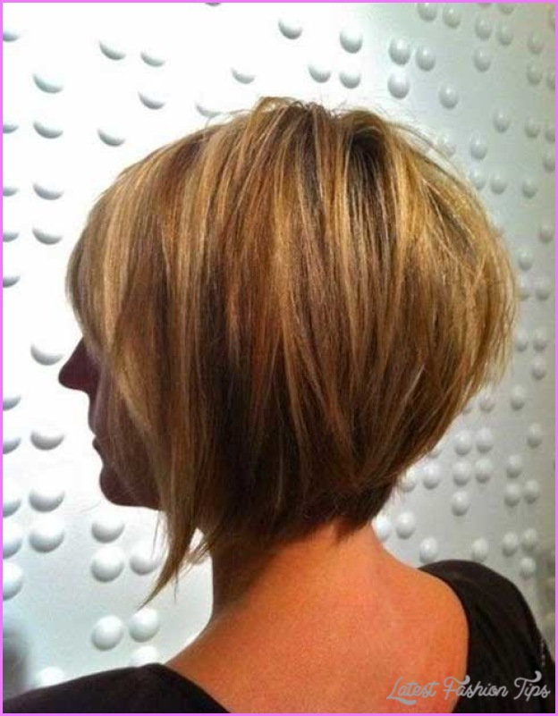 Back View Of Inverted Bob Haircut  LatestFashionTipscom