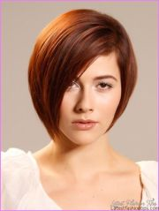 short haircuts women with thick