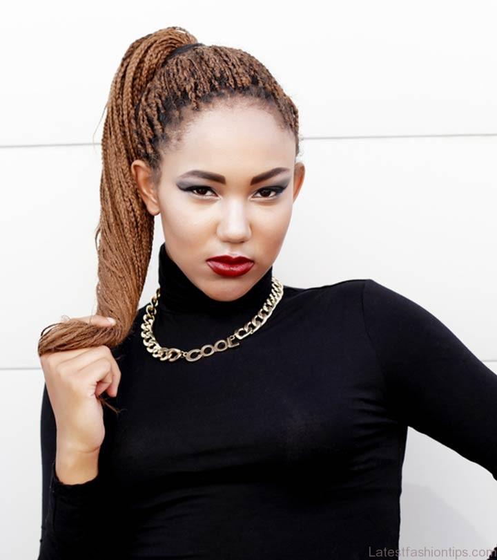 10 Best Braided Updos For Black Women  LatestFashionTips