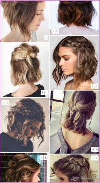 Best Hairstyle For Short Hair - LatestFashionTips.com