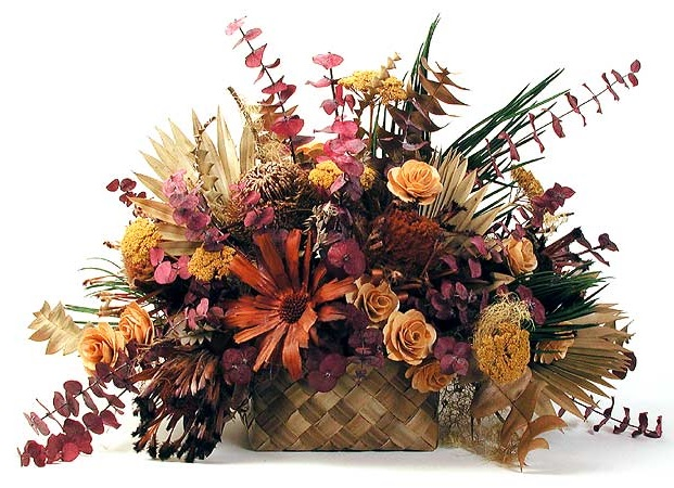 Flower Decor with Dry Flowers