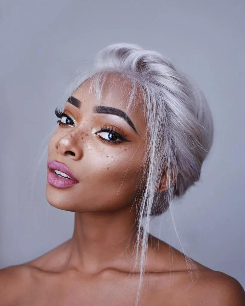 Insta Trend Grey Hair Latest In Beauty Blog