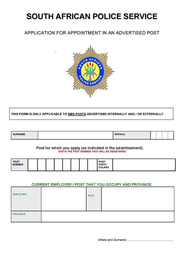 Woolworths jobs application form image collections standard form download saps application form 2018 latestjobs image result for saps form falaconquin falaconquin