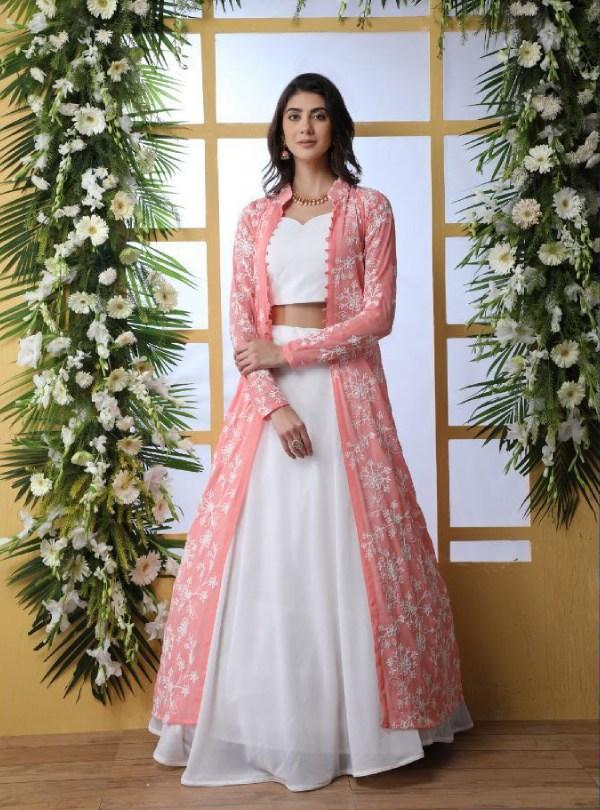 Designer Peach And White Party Wear Lehenga Latest Kurti Designs,Living Room Small Home Interior Design India