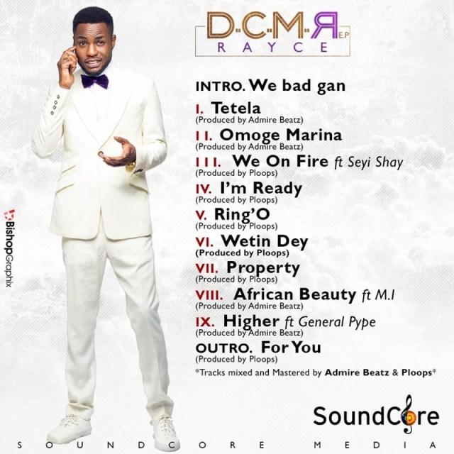 Rayce - DCMR EP