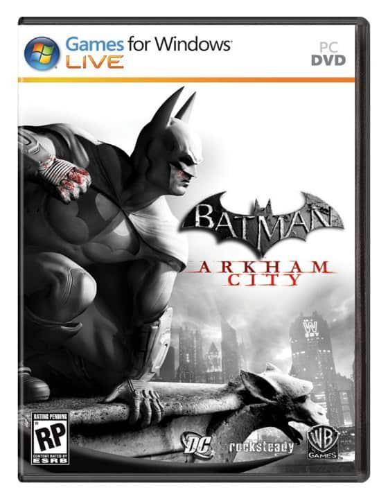 Batman: Arkham City's Box Art revealed 1